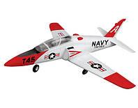 Самолет на радиоуправлении модель реактивного самолёта VolantexRC Goshawk T45 TW-750-1 RTF (самолет с пультом)