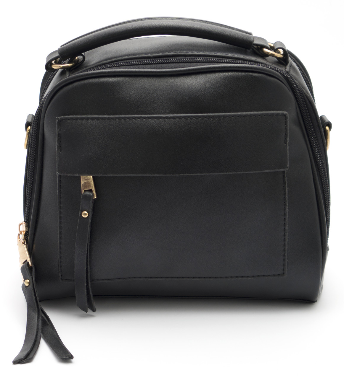 Аккуратная женская черная сумка  Б/Н art.027