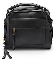 Аккуратная женская черная сумка  Б/Н art.027, фото 1