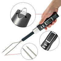 Профессиональный цифровой термометр-вилка для мяса 5 режимов, фото 1