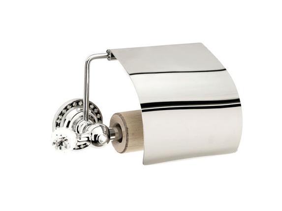 Держатель для туалетной бумаги KUGU Swan 411C (латунь, хром)(Бесплатная доставка  ), фото 2