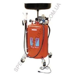 Установка для слива и откачки масла с электронасосом (80л.) G.I.KRAFT HD-806AC (Германия/Китай)