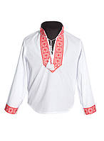 Вышитая рубашка для мальчиков (в размере 134 - 158)