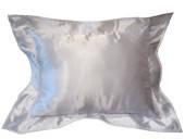 Подушка под сублимацию с белой окантовкой ( размер 40х30см, атлас )