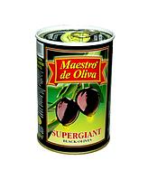 """Маслины Супергигант с косточкой,""""Maestro de Oliva"""", 425 г."""