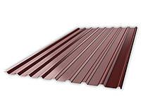 Профнастил НС-20 RAL 8017(коричневый)толщина 0,45