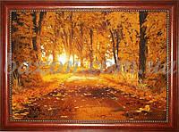 """Картина """"Осенняя тропа"""" 80х120 см"""