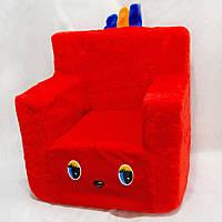 Детский стульчик красный