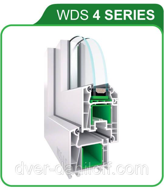 Металопластикові вікна WDS 4 SERIES. Біла Церква