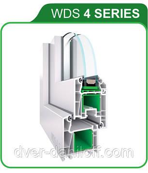 Металлопластиковые окна WDS 4 SERIES. Белая Церковь, фото 2