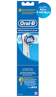Насадка Oral-B для электрической зубной щетки Precision Clean EB20 2 шт.