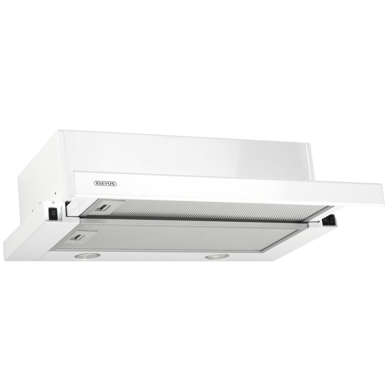 Витяжка кухонна телескопічна ELEYUS Storm 700 LED SMD 60 WH + Безкоштовна доставка!