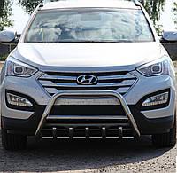 Кенгурятник на Hyundai Santa Fe (c 2013---) Хюндай Санта Фе PRS