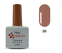 Гель-лак для ногтей Nails Molekula №36 кофе с молоком