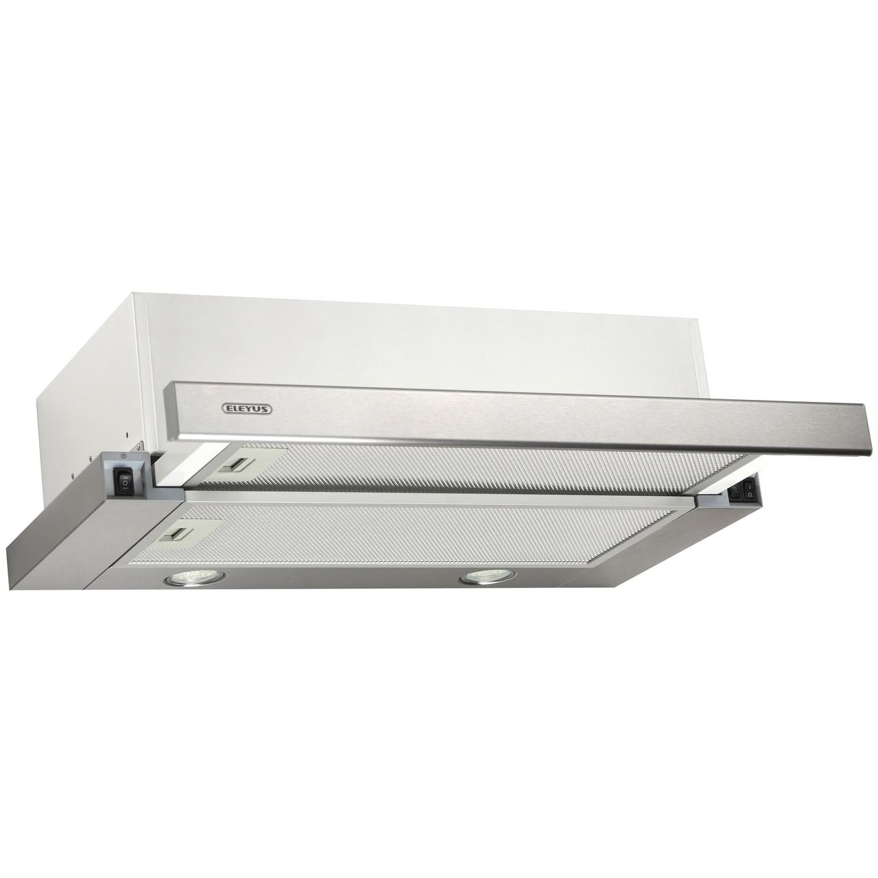 Витяжка кухонна телескопічна ELEYUS Storm 700 LED SMD 60 IS + Безкоштовна доставка!