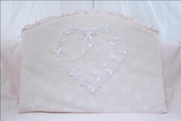 Детский постельный комплект «Ангелочек Сердце» (в ассортименте, 6 элементов), EkoBaby