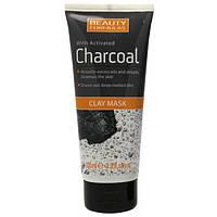 Маска для лица из черной глины (глубокая очистка) Beauty Formulas 150мл