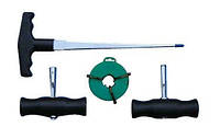 Набор инструментов для демонтажа лобового стекла AB010029 (Jonnesway, Тайвань)