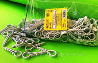 Дюбель-ёлочка до 12 мм для круглого кабеля/провода