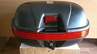 Кофр TVR (багажник) пластиковый на два шлема для Мотоцикла