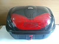 Кофр TS (багажник) пластиковый на два шлема с кодовым замком