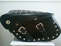 Кофры боковые (багажник) большие с заклепками комплект 2 шт.