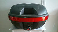 Кофр TVR (багажник) пластиковый для Мотоцикла