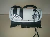 Кофр батон (багажник) белый для Мотоцикла