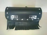Кофр батон (багажник) черный для Мотоцикла