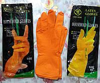 Перчатки латексные хозяйственные, фото 1