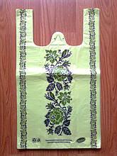 Полиэтиленовые пакеты майка Вышиванка 30х50 см/ 19 мкм оптом от производителя Киев