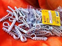 Дюбель-ёлочка до 10 мм для круглого кабеля/провода