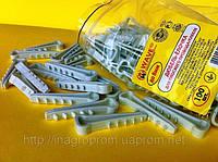 Дюбель хомут-ёлочка 8х4 для плоского кабеля или провода