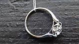 Кольцо серебряное с куб.цирконием, фото 3