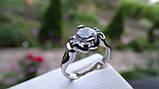 Кольцо серебряное с куб.цирконием, фото 6