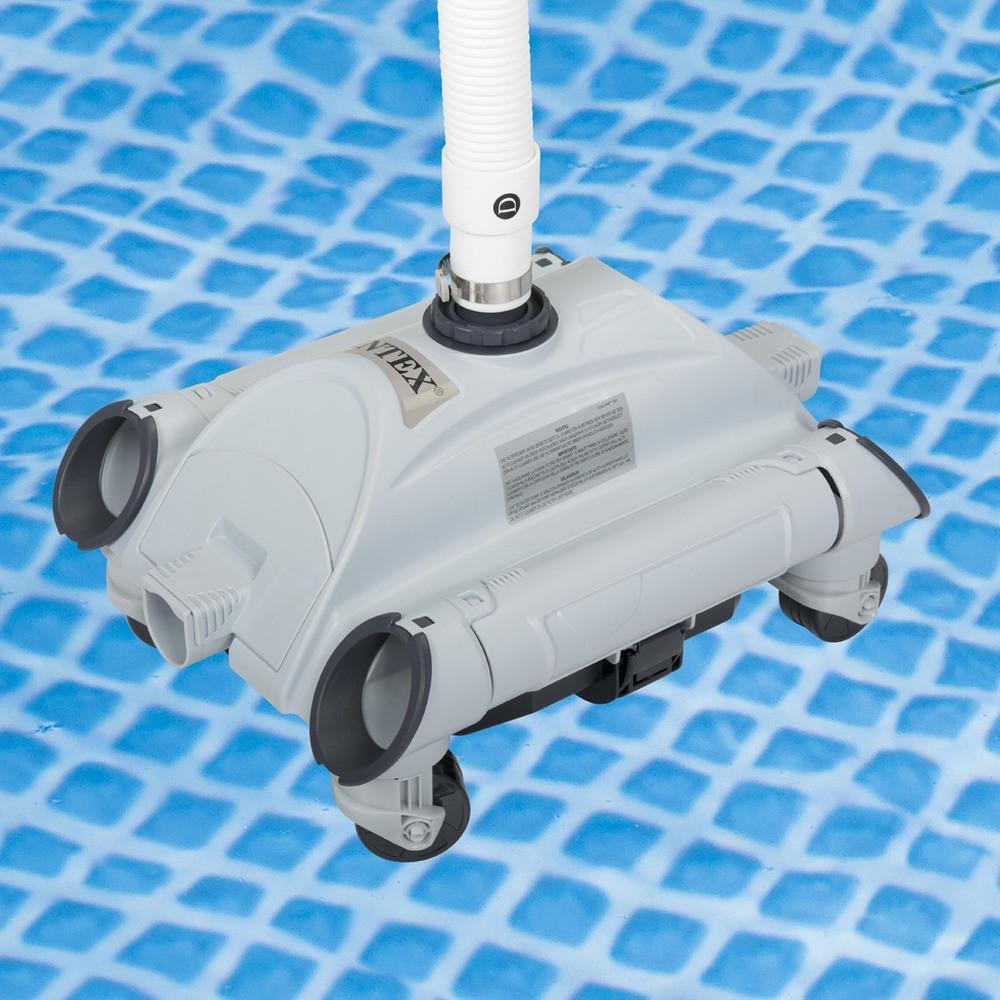 Пылесос Intex 28001 для уборки бассейнов (автоматический вакумный)