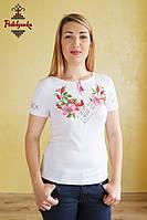 Жіноча вишита футболка Шипшина, фото 1