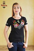 Жіноча вишита футболка Шипшина