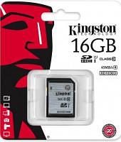 Карта памяти Kingston SDHC 16 GB G2 Class 10