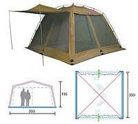 Палатка Alexika China House бежевая