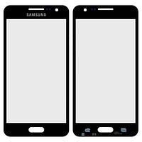 Стекло сенсорного экрана Samsung Galaxy A3 black