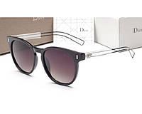 Женские солнцезащитные очки (8207) черные, фото 1