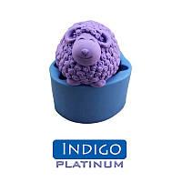 Силикон Platinum Indigo 20 ШорА (Платинум Индиго). Высокоэластичный, очень жидкий. Упаковка 1кг.