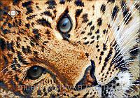 """Схема для вышивки бисером """"Золотой леопард"""""""