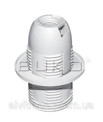 Патрон BUKO BK259 E14 пластиковый, белый