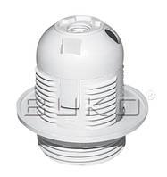 Патрон BUKO BK257 E27 пластиковый, белый
