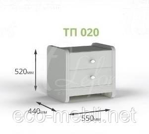 Тумба приліжкова ТП 020