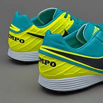Сороконожки Nike TiempoX Mystic V TF 819224-307 Найк Темпо (Оригинал), фото 3