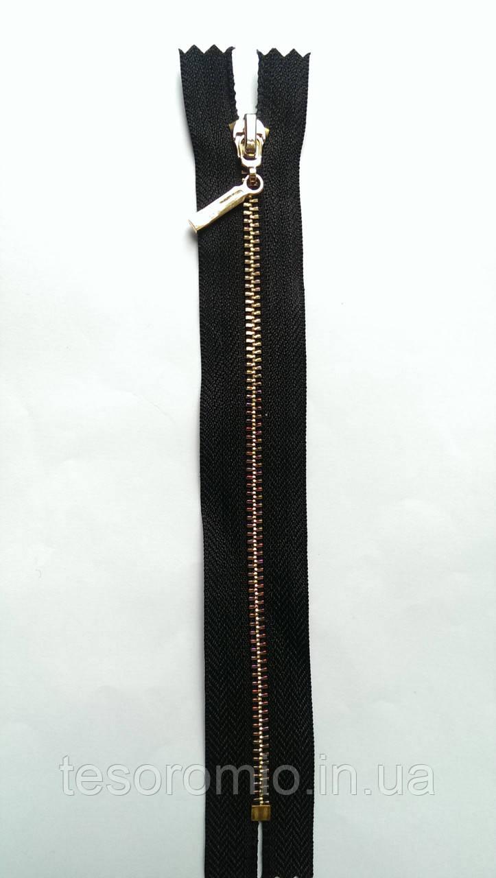 Тип-3 18см метал золото полировка карманка черный