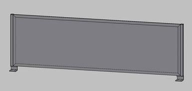 SIG 102 Экран (поликарбонат) 1392х500мм